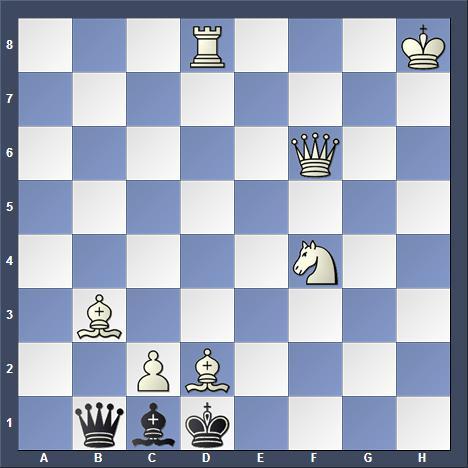 Schach Schachproblem White