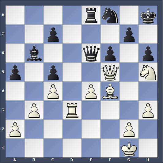 Schach Wijk aan Zee Carlsen Radjabov Springeropfer