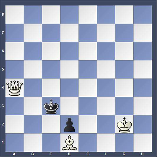 Schach Schachproblem Kovalenko