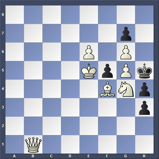 Schach Schachproblem von Klett