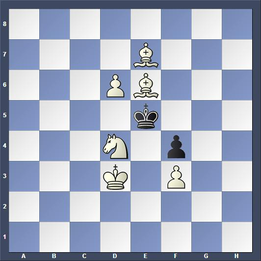 Schach Schachproblem Ostwald
