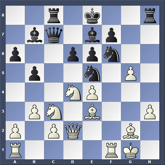 Schach Reykjavik Open Esserman Navara