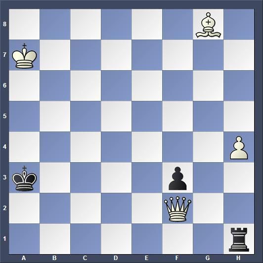 Schach Schachproblem Pedersen