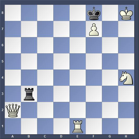 Schach Schachproblem Matwejenko