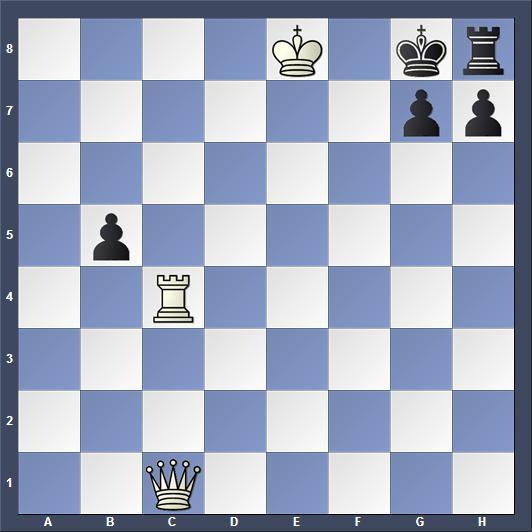 Schach Schachproblem Akimow