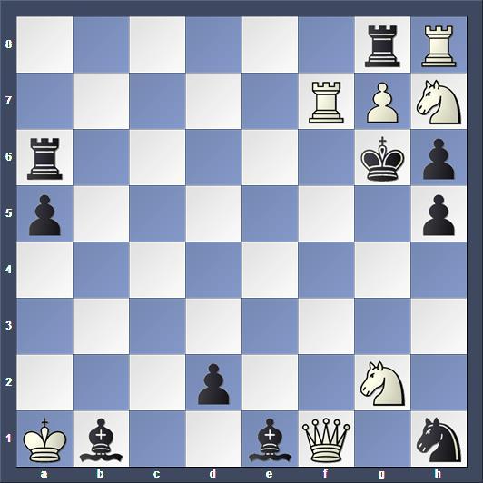 Schach Schachproblem Büchner