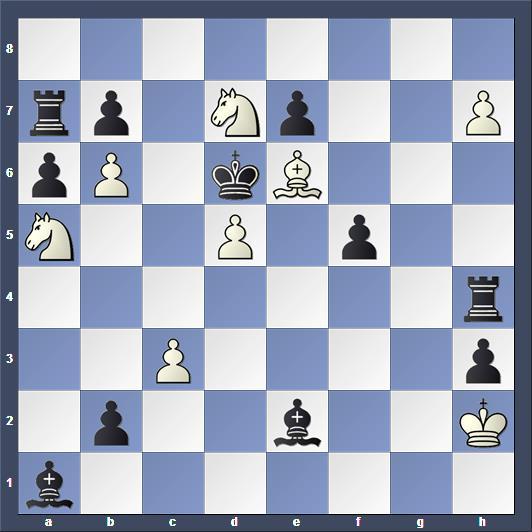 Schach Schachproblem Klinke