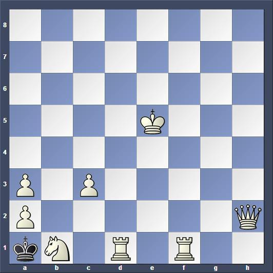 Schach Schachproblem latzel