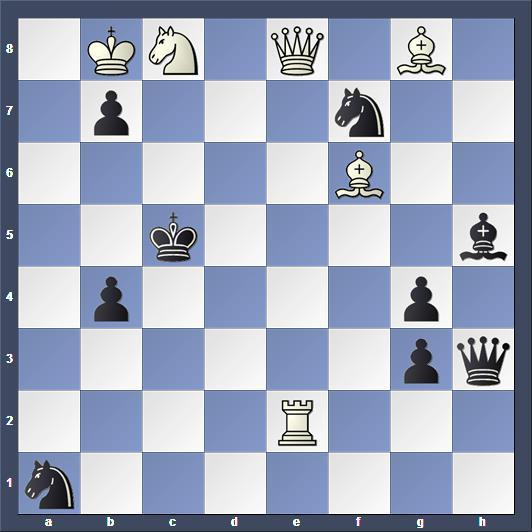 Schach Schachproblem Knotek