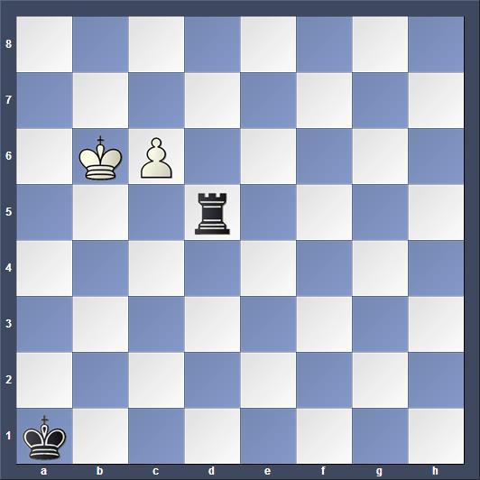 Schach Studie Saavedra