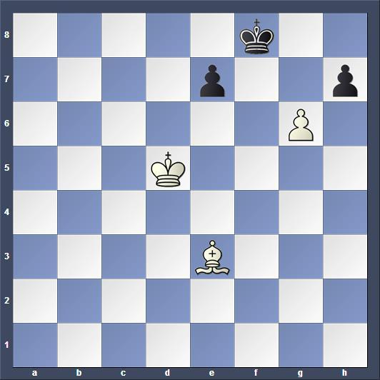 Schach Studie Troitzky