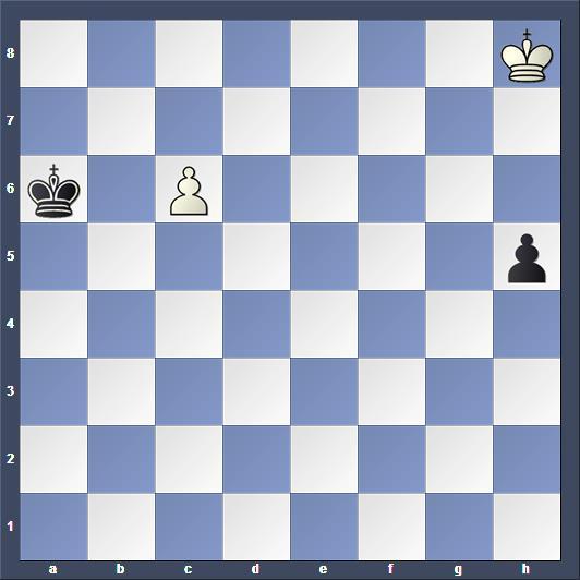 Schach Studie Reti
