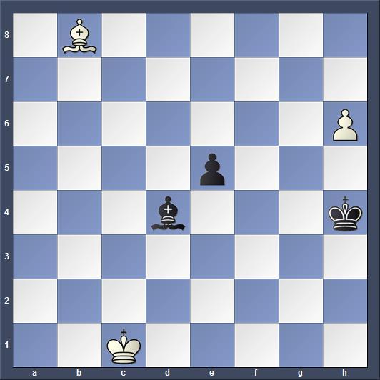 Schach Studie Heuäcker