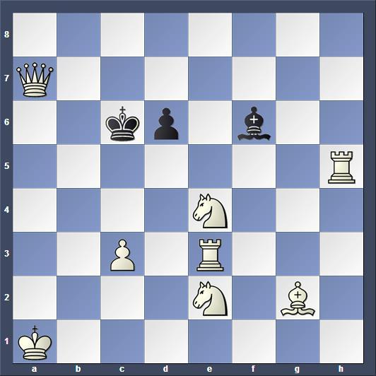 Schach Schachproblem Cornwell
