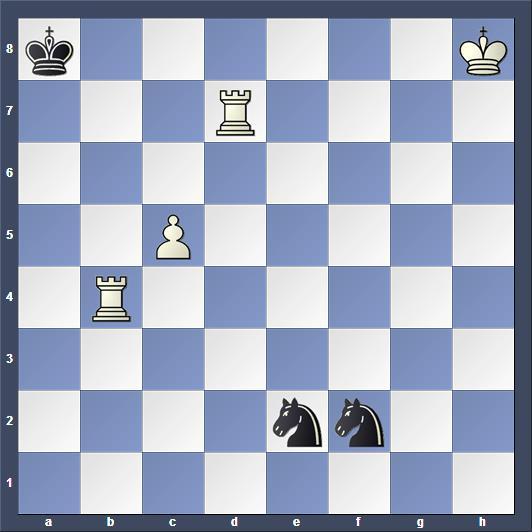 Schach Schachproblem Rübesamen