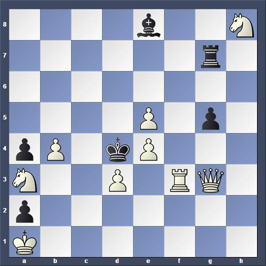 Schach Schachproblem Bruski