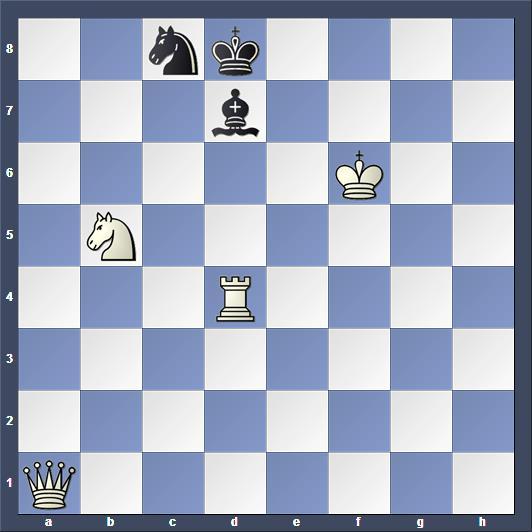 Schach Schachproblem Kozhakina