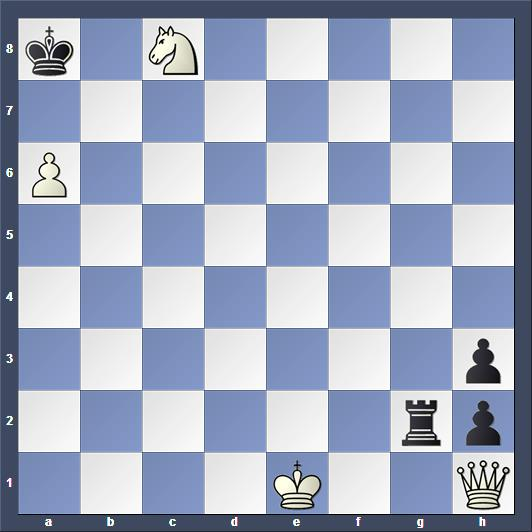 Schach Studie Bondarenko