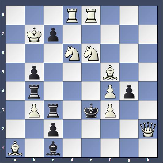 Schach Scachproblem Visserman