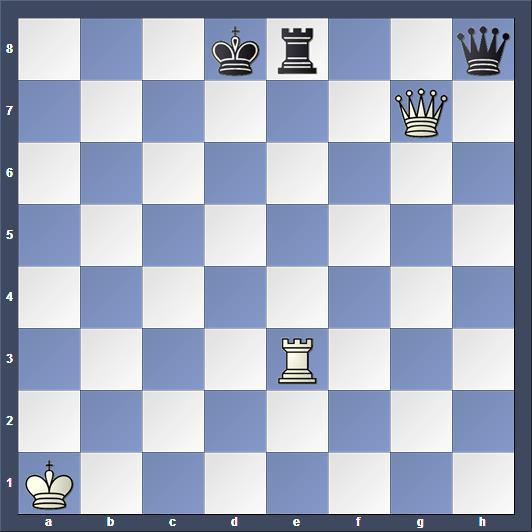 Schach Studie Mouterde