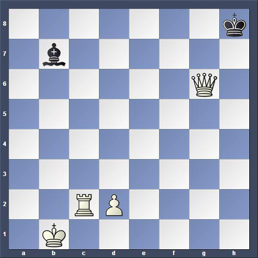Schach Schachproblem Riczu