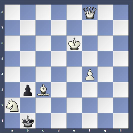 Schach Schachproblem Blumenthal