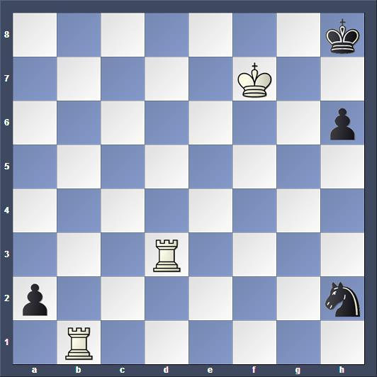 Schach Schachproblem Rehm