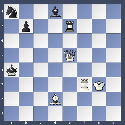 Schach Schachproblem Blaschke