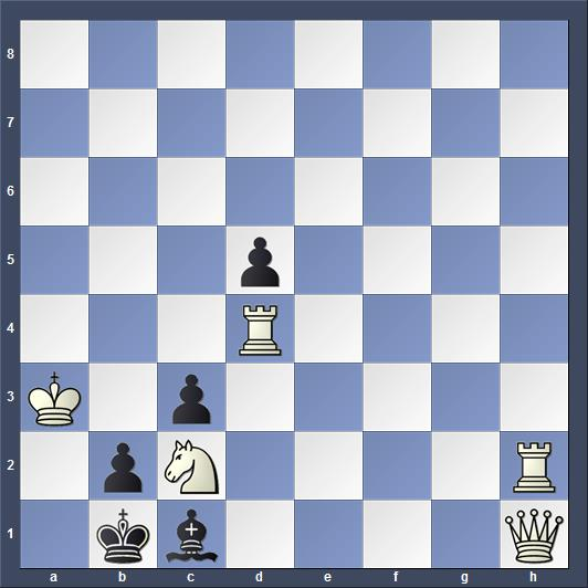 Schach Schachproblem Loyd