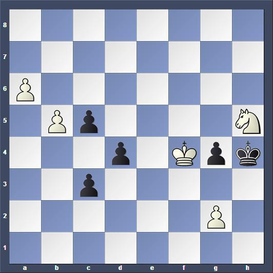 Schach Studie Canal