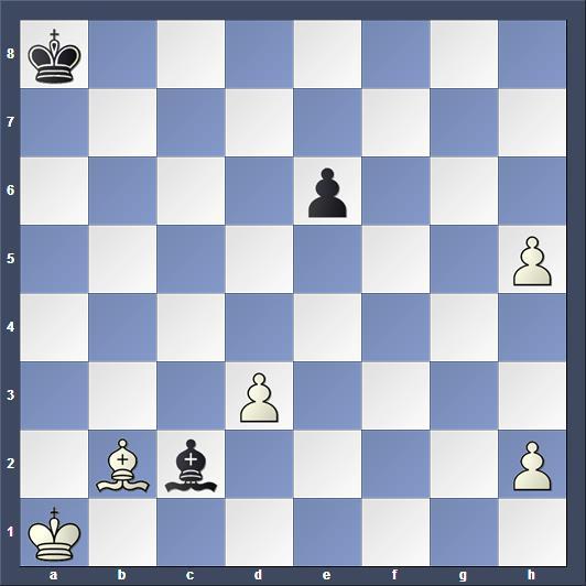 Schach Studie Kasanzew