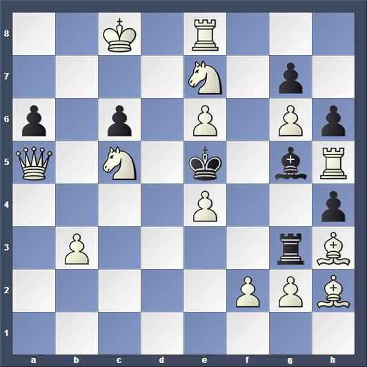 Schach Schachproblem Visserman