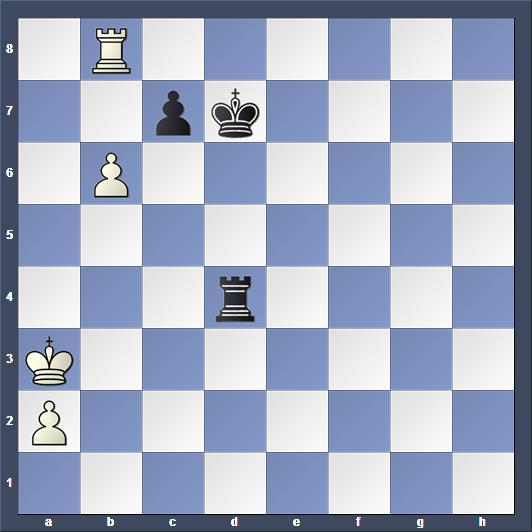 Schach Studie Moravec