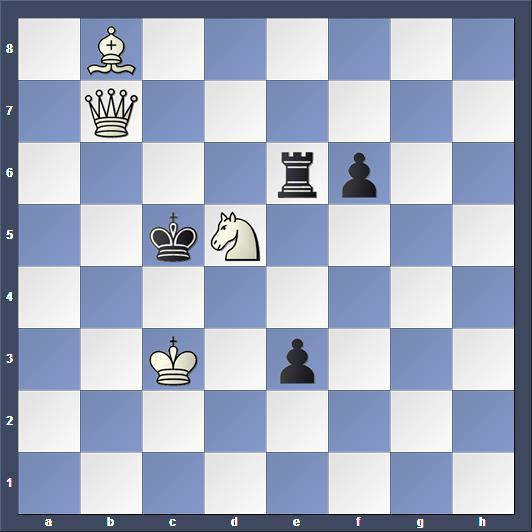 Schach Schachproblem Boardman