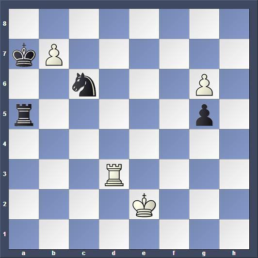 Schach Studie Mattison