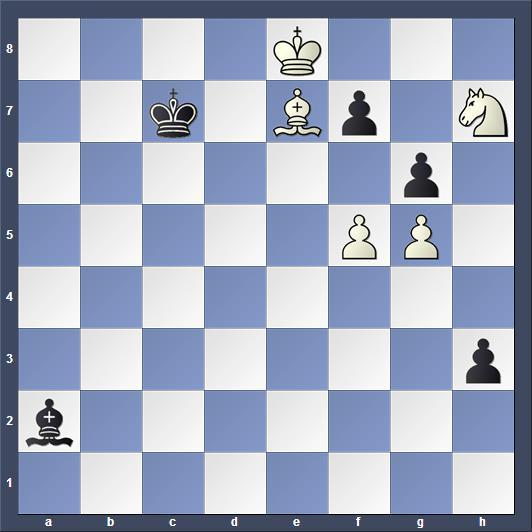 Schach Studie Simkowitsch