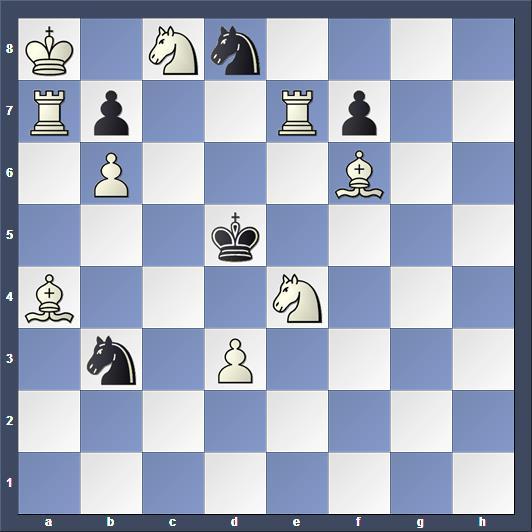 Schach Schachproblem Janet
