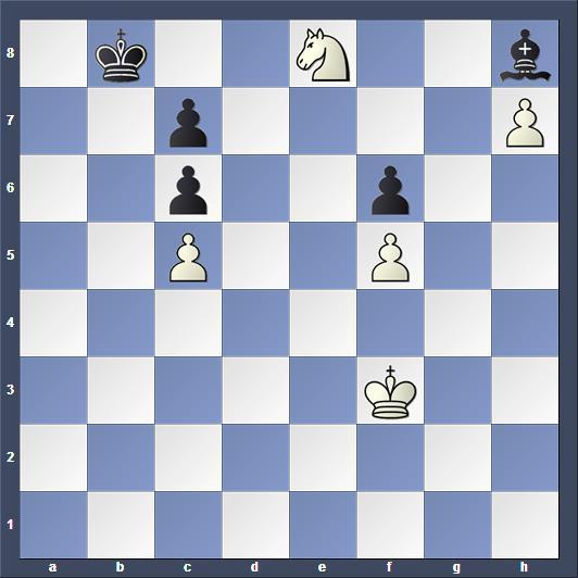 Schach Studie Selesniev