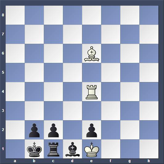 Schach Studie Galitzky
