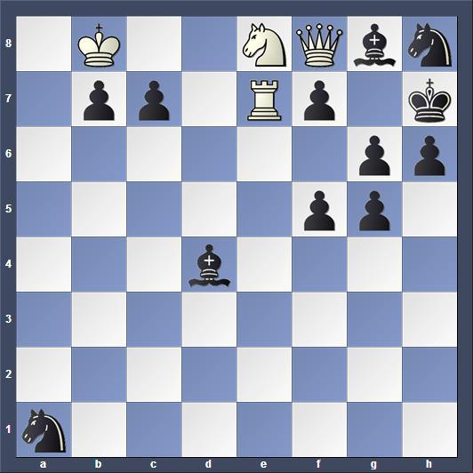 Schach Schachproblem Grasemann