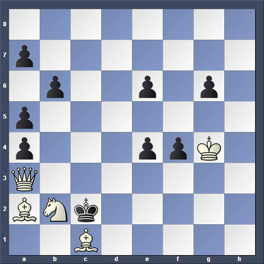 Schach Schachproblem Paboucek