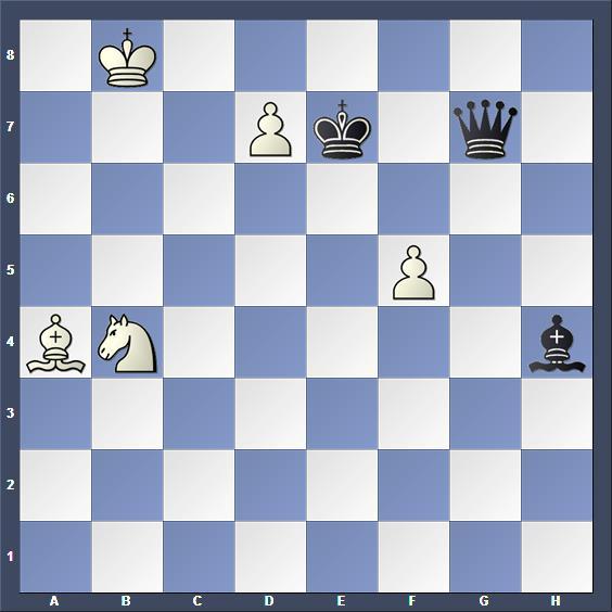 Schach Stuidie Steckbauer