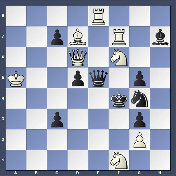 Schach Schachproblem Righi