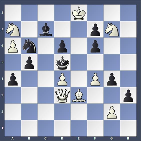 Schach Schachproblem Apel