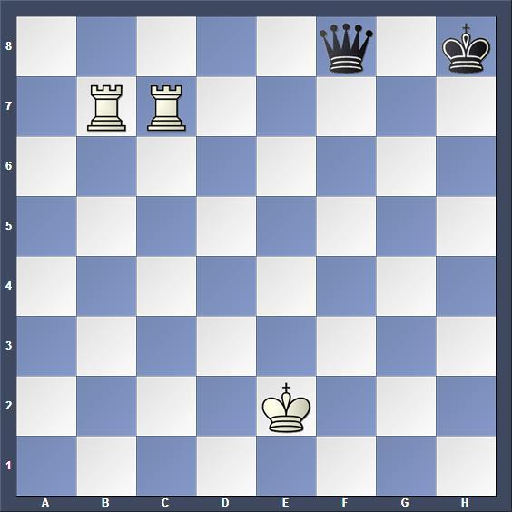 Schach Studie Rinck