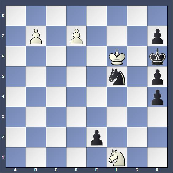 Schach Schachproblem Kraemer