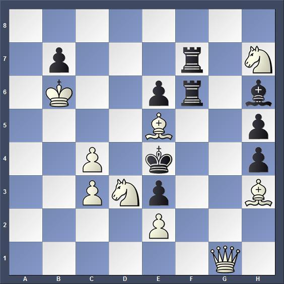 Schach Schachproblem Borovik