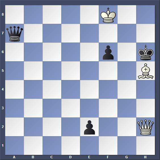 Schach Schachproblem Miller