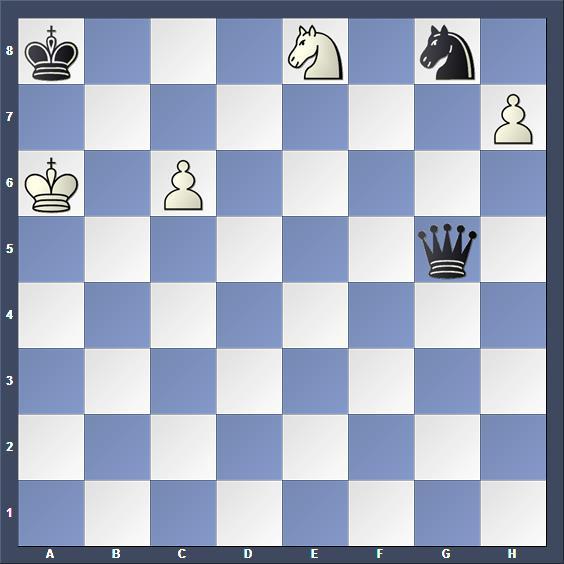 Schach Studie Tagasjanz