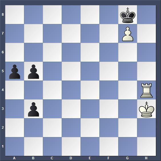 Schach Studie Weinberger